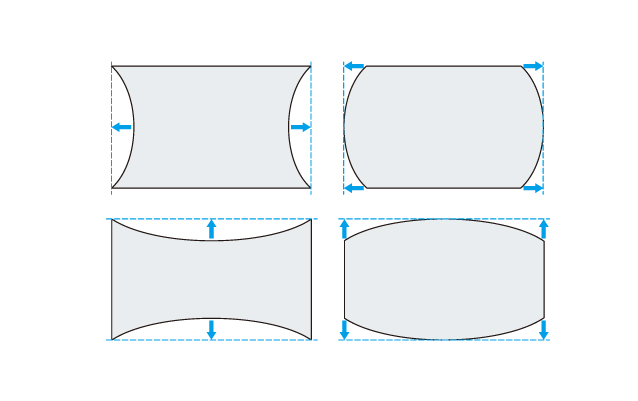 Curved Screen Correction