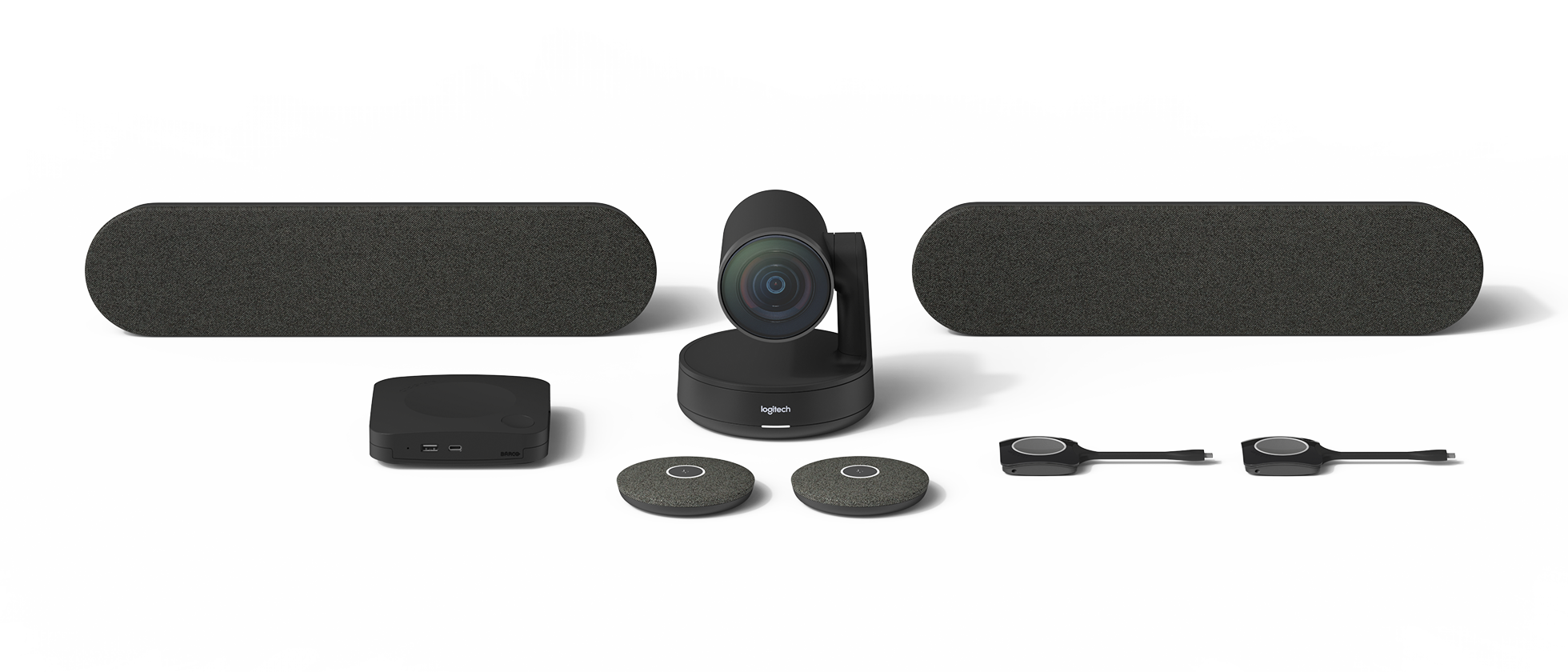 Комплект Large для видеоконференций Barco + Logitech
