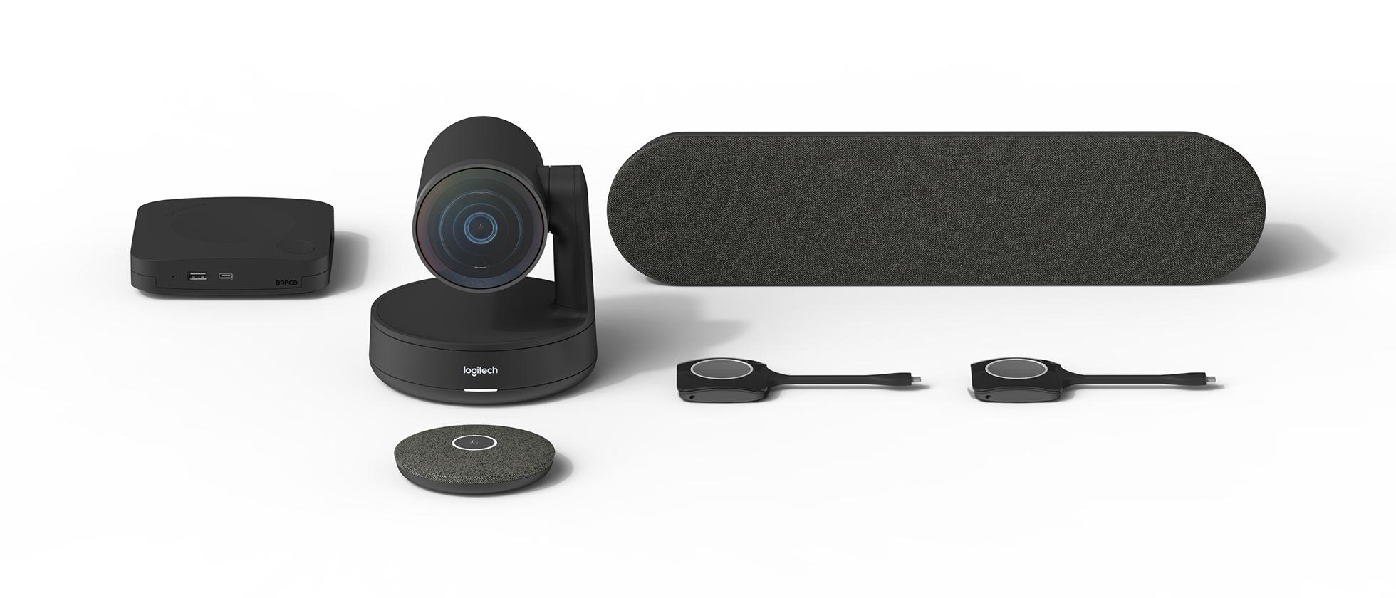 Комплект Medium для видеоконференций Barco + Logitech