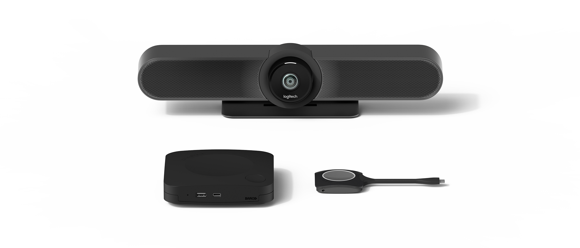Комплект Small для видеоконференций Barco + Logitech