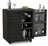 BDI Corridor Bar 5620 Charcoal Stained Ash